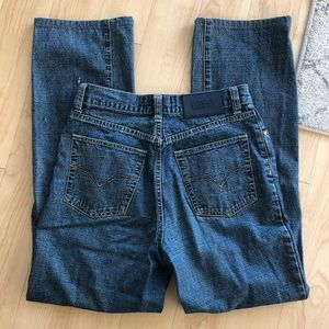 VINTAGE VERSACE High Rise Mom Denim Jeans